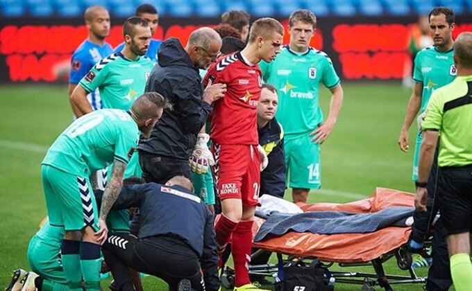 Srpski golman teže povređen u Danskoj