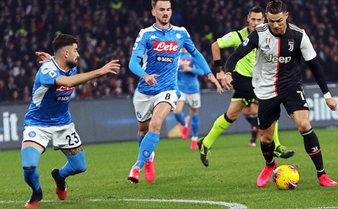 Ronaldo kasno proradio, Napoli srušio šampiona!