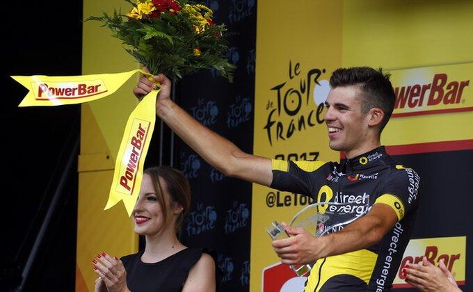 Tur d' Frans - Kalmežanu osma etapa, Frum zadržao žutu majicu