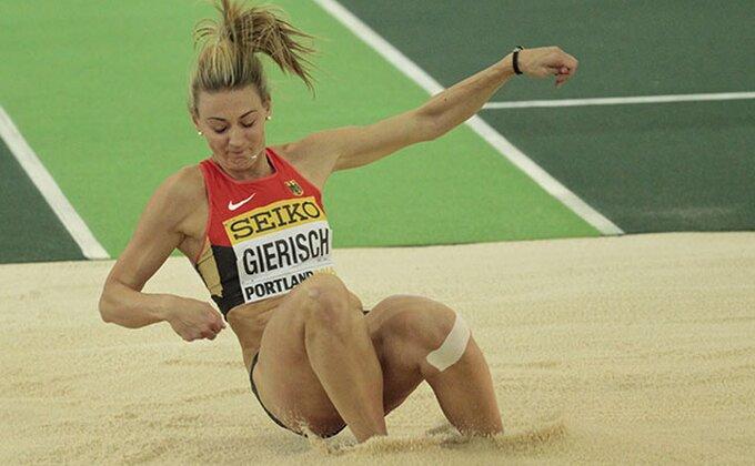 Zlato za Kristin Giriš u troskoku