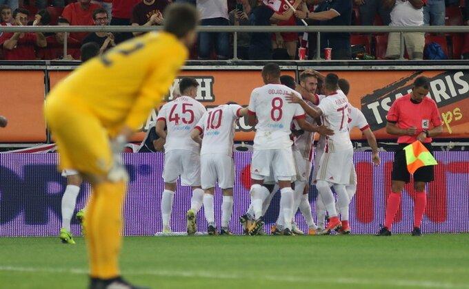 Olimpijakos se pojačao u Ligi 1 pred dvomeč sa Rijekom