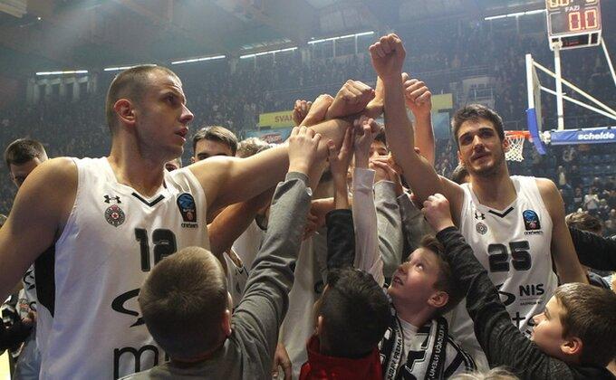 Pobeda se piše - Partizan izbegao blamažu...