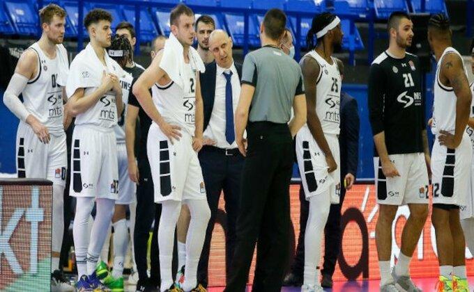 Crno-beli se pripremaju za KLS - Mega ima dva igrača za Partizan!