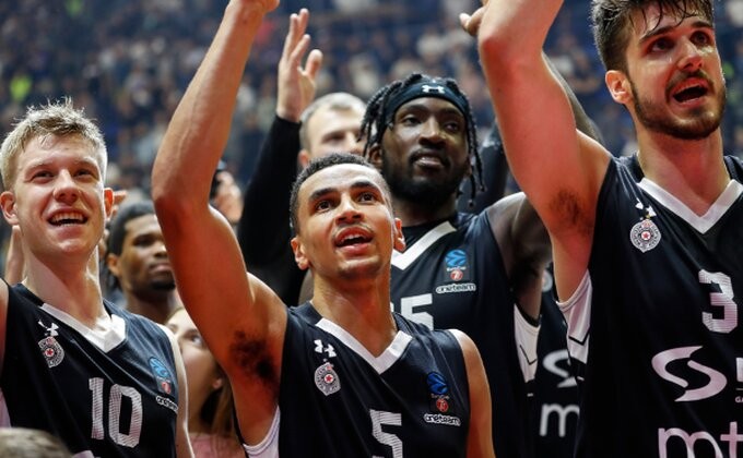 Nije bilo publike, ali Partizan je večeras imao specijalnu podršku!