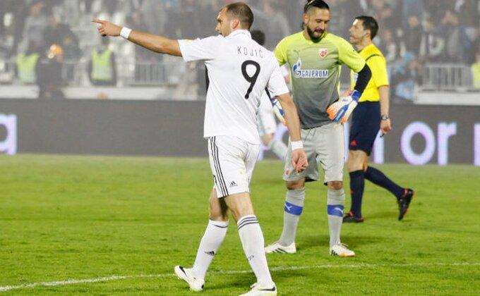 Emotivan rastanak Kojića i Partizana