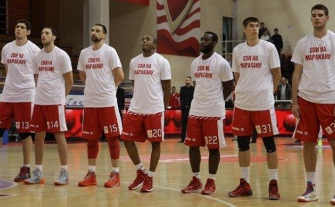 I Zvezdini košarkaši uputili poziv: ''Svi na Marakanu!''