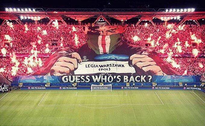 Legija i Real pred praznim tribinama u Varšavi