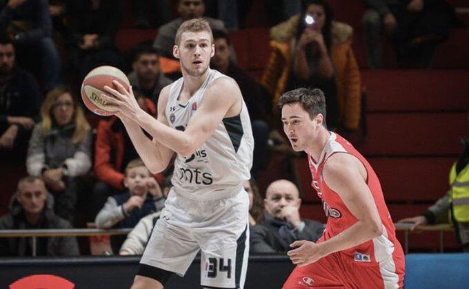 "Lendejl: ""Igrati za Partizan je ludo, ume da bude zastrašujuće"""
