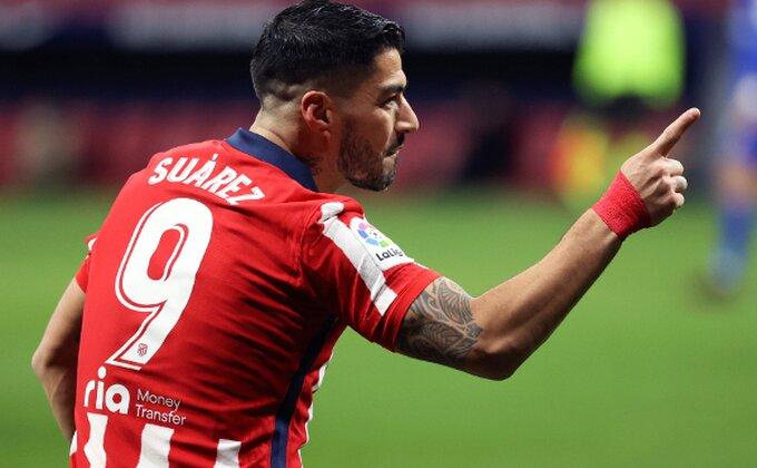 """Luis Suarez nije Brajtvajt, Atletiko prvi, """"El Pistolero"""" opet heroj!"""