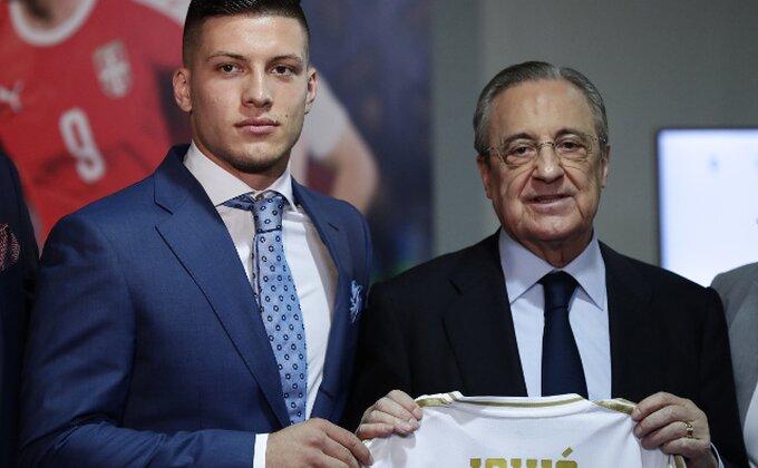 To se čekalo, Luka Jović prvi put pred navijačima Reala! Šta je sa brojem na dresu?