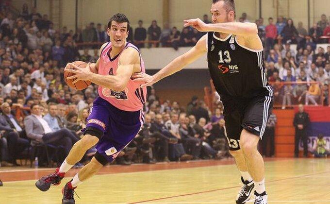 Mega testirala Partizan pred put u Podgoricu
