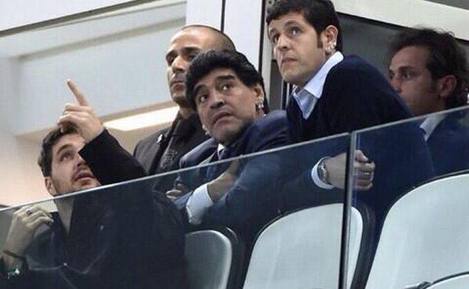 Maradonu nisu pustili na stadion!