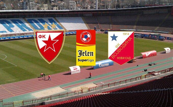 JSL: Crvena zvezda - Vojvodina 3-0 (KRAJ)