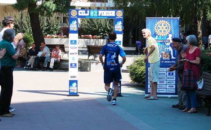 Maraton za Ginisa - Goran već istrčao 16 od 55! Idemo dalje!