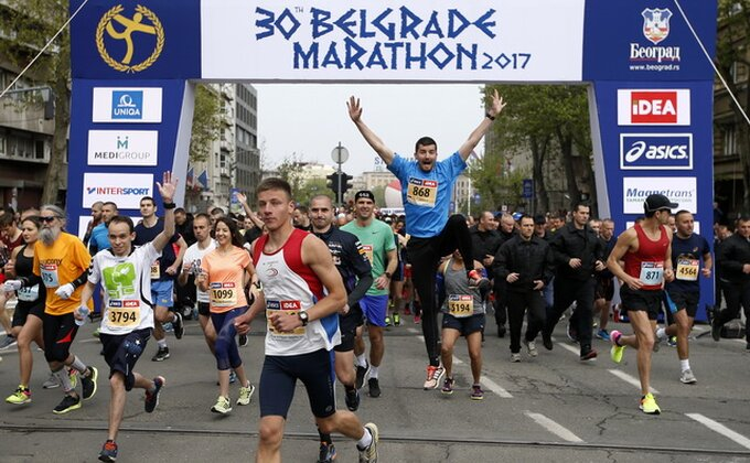Dario Ivanovski i Slađana Perunović pobednici polumaratona