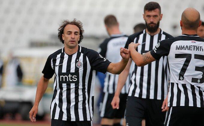 Markec iz lože posmatrao trijumf Partizana, hoće li biti spreman za utakmicu sezone?
