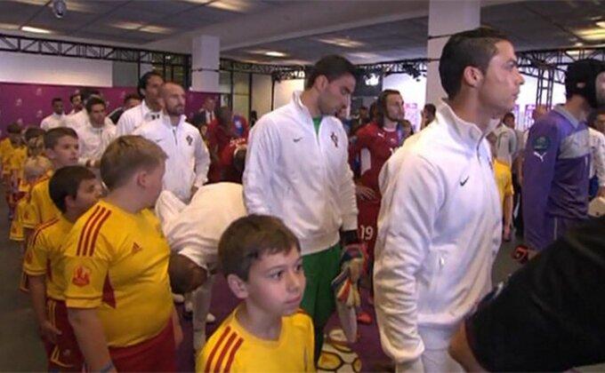 Makedonski doprinos Ronaldovom golu