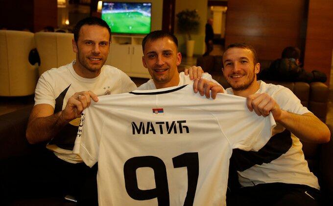 Ko se najviše obradovao Matiću u Partizanu i kako će se izboriti za minutažu pored Sadika?