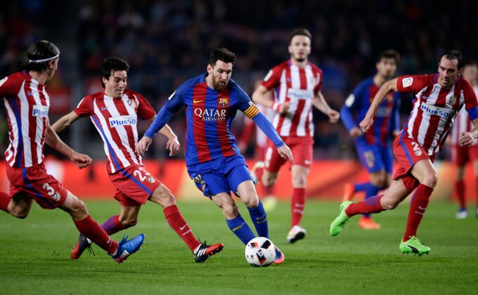 LUDNICA! Poništen gol, tri crvena, promašeni penal, Barsa izbacila Atletiko u trileru godine!