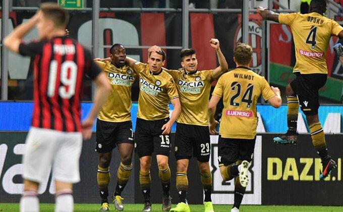 Udineze u sjajnoj formi, ubedljiva pobeda u gostima!