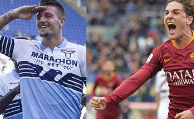 Najtalentovaniji Srbin i najtalentovaniji Italijan pod pratnjom, evo ko će ih gledati u derbiju Rima!