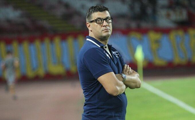 """Milojević: """"Ne mogu da budem zadovoljan remijem, ali je on realan"""""""