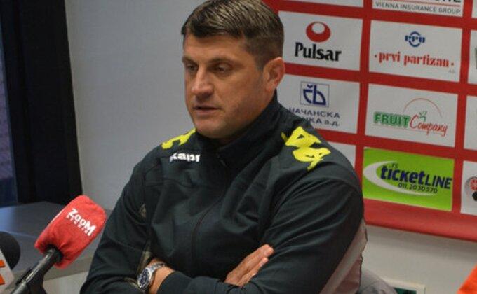 """Milojević: """"Zaslužili smo trofej"""""""