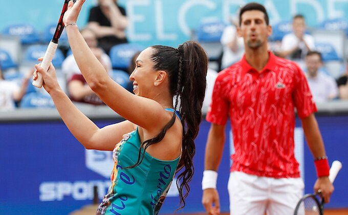 Jelena i Novak bolji od Olge i Nenada na otvaranju!