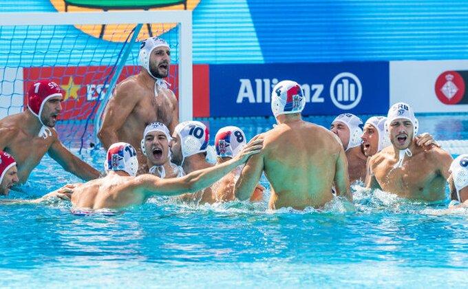 Srbija vs Australija - PREKINUTO!