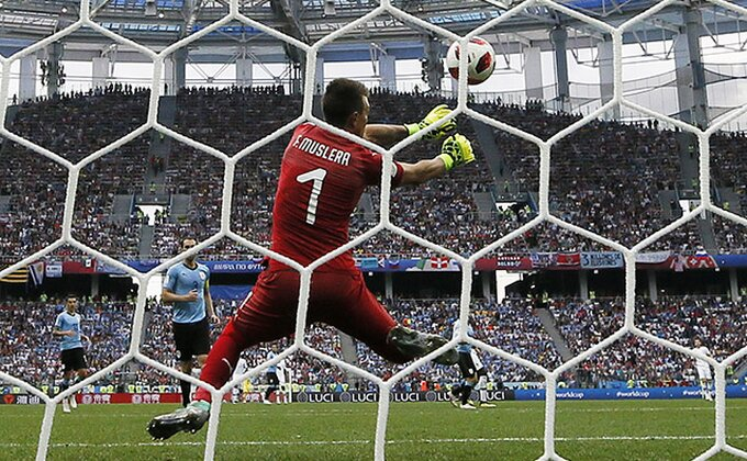 Selektor Urugvaja napravio veliku grešku, Muslera nije smeo među stative!