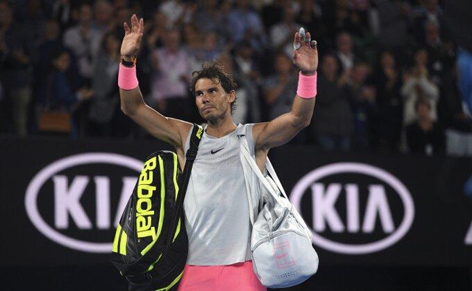 Tim blista od sreće, Nadal razočaran: ''Pokušao sam da se borim...''