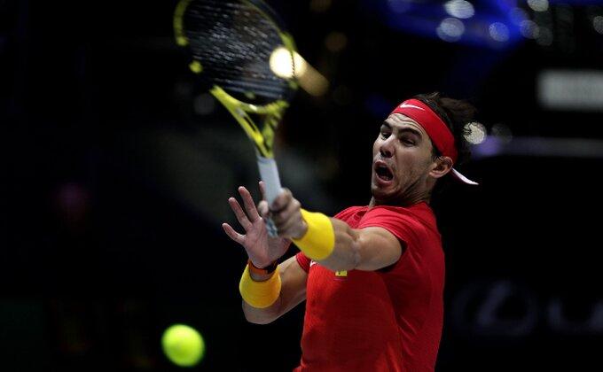 Veliko slavlje u Madridu, presudio Rafa Nadal - Španija osvojila Dejvis kup! A da flašice nisu bile na svom mestu...?