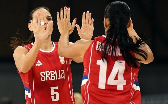 Košarkašice Srbije deklasirale Tursku!