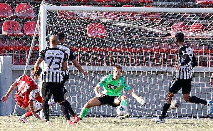 Mladi golman Partizana obećao još bolji Partizan