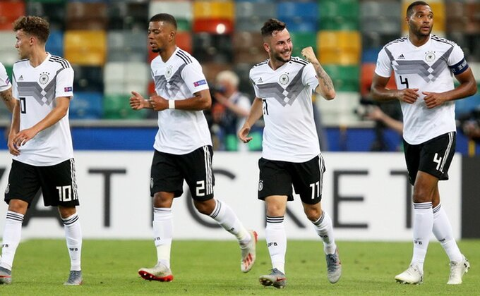 EP - Nemci ubedljivi, Srbija poslednja posle prvog kola