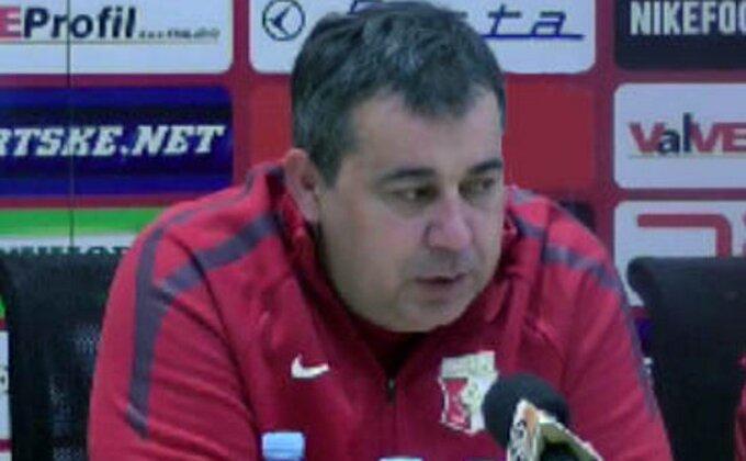 Milovanović vraćen na klupu Napretka