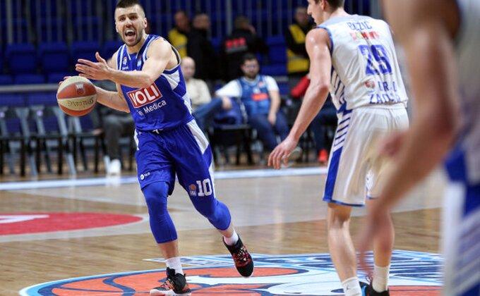 ABA - Zadar namučio šampiona, Partizan pao na četvrto mesto