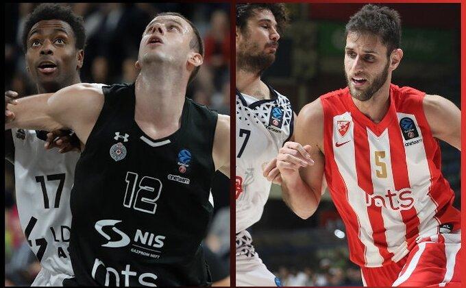 Top 16 - Partizan kreće iz Litvanije, Zvezda prvo sa Limožom