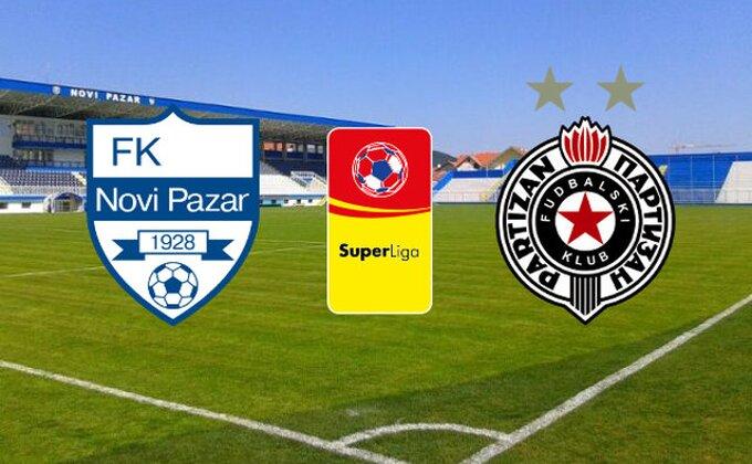 SL: Novi Pazar - Partizan (KRAJ)