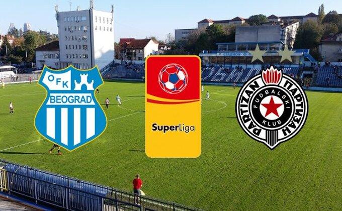 SL: OFK Beograd - Partizan (KRAJ)