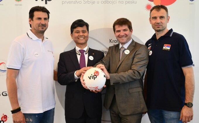 OSS promovisao prvenstvo Srbije u odbojci na pesku