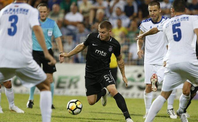 "Stevanovićev prvenac u dresu Partizana, proradio i ""Ožegol""!"