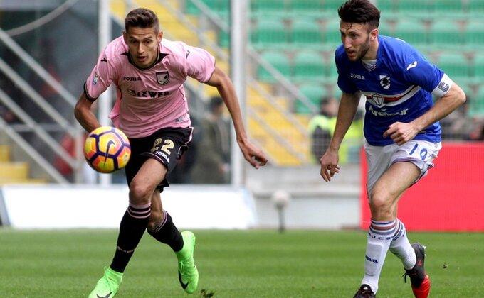 Palermo prokockao pobedu, Sampdorija izvukla bod u 90-om!