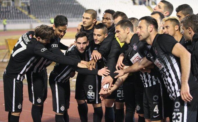 """U Partizanu zadovoljni: """"Ovo je bilo zasluženo"""""""