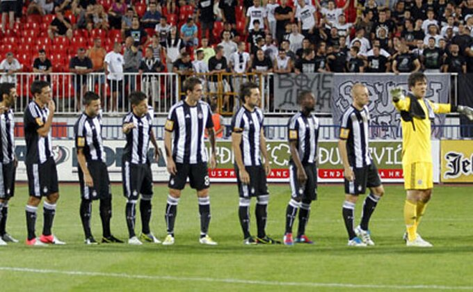 Partizan juri 300. gol u Evropi!