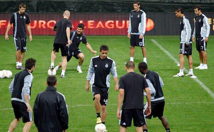 Partizan trenirao na ''Meaci''