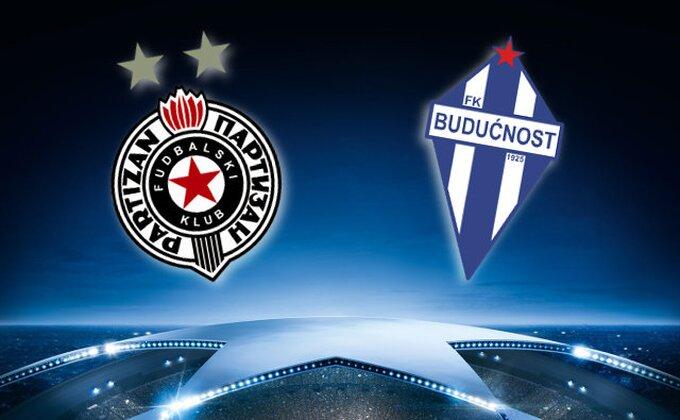 Tri dana pred meč sa Partizanom, Budućnost doživela veliki udarac!