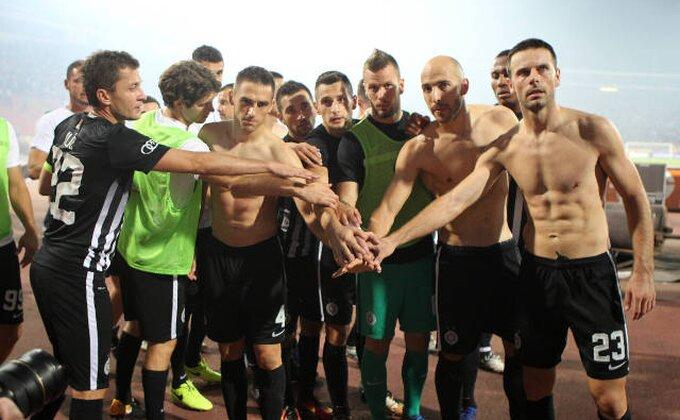 Fudbaleri Partizana: ''Sve je to zbog lošeg terena''