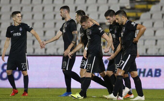 Samo bod za Partizan u Kruševcu!