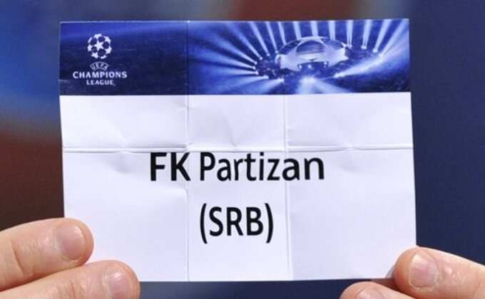Partizan, ipak, nosilac na žrebu!